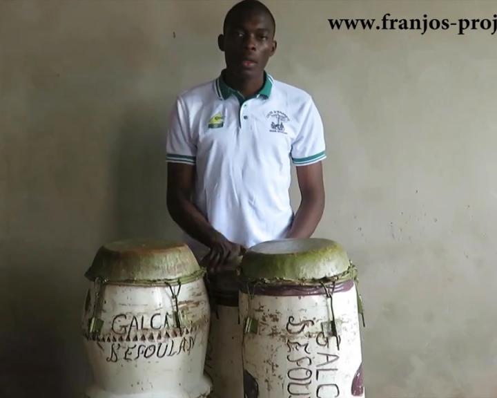 Formation complète aux tambours à une peau